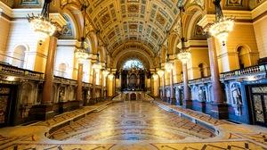 Liverpool England Architecture Tile Interior 4096x2726 Wallpaper