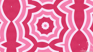 Abstract Artistic Digital Art Kaleidoscope Pattern Pink Red 1920x1080 Wallpaper