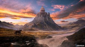 Fantasy Landscape 2560x1440 Wallpaper