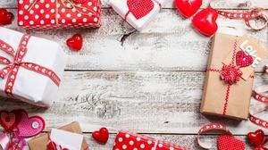 Gift Heart Still Life 4500x3000 Wallpaper