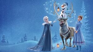 Anna Frozen Elsa Frozen Frozen Movie Olaf Frozen Sven Frozen 3840x2400 Wallpaper