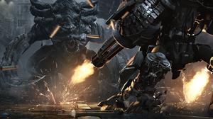 Creature Machine Gun Robot Starcraft Ii 4096x1740 wallpaper