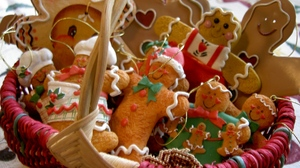Christmas Cookie Gingerbread 1920x1440 Wallpaper