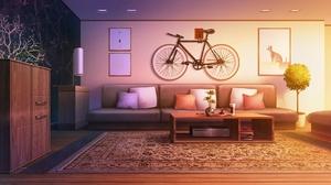 Bike Room 2086x1080 Wallpaper
