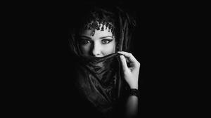 Black Amp White Makeup 1920x1080 Wallpaper