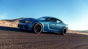 Dodge Dodge Charger Srt Hellcat Dodge Charger Car Muscle Car Blue Car 3000x2001 wallpaper