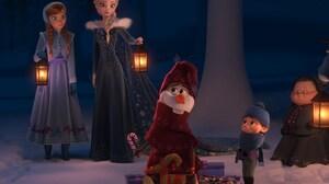 Anna Frozen Elsa Frozen Olaf Frozen 3000x2026 Wallpaper