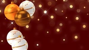 Christmas Ornaments Bauble 6508x4601 Wallpaper