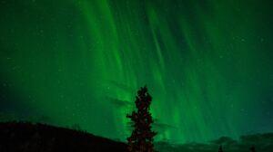 Aurora Borealis Light Nature Night Sky Stars 6000x3376 Wallpaper