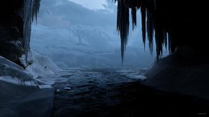 4Gamers Video Game Art Video Games Screen Shot Winter River Sony PlayStation PlayStation 4 God Of Wa 1858x1040 Wallpaper