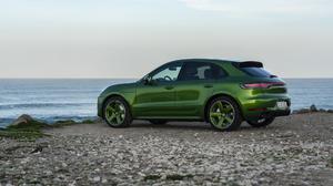 Car Green Car Luxury Car Porsche Porsche Macan Porsche Macan Gts Suv Vehicle 1920x1080 Wallpaper