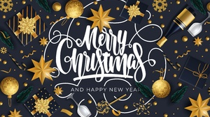 Merry Christmas Happy New Year Gift Christmas Ornaments 6667x4167 Wallpaper