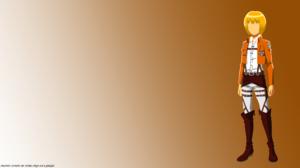 Armin Arlert Attack On Titan Minimalist 8500x4500 Wallpaper