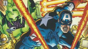Comics Captain America 3900x2194 wallpaper