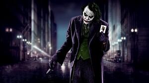 Joker The Dark Knight Heath Ledger Movies 2560x1440 Wallpaper
