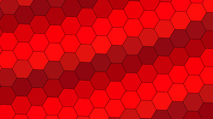 Artistic Geometry Hexagon Pattern Red 3840x2400 Wallpaper