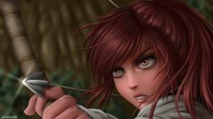 Anime Girls Shingeki No Kyojin Sasha Blouse Amana 3000x1687 Wallpaper
