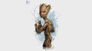 Groot Guardians Of The Galaxy Marvel Comics 3840x2160 wallpaper