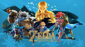 Daruk The Legend Of Zelda Link Mipha The Legend Of Zelda Revali The Legend Of Zelda The Legend Of Ze 1920x1080 Wallpaper