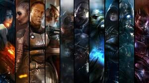 Miranda Lawson Jack Mass Effect Zaeed Massani Mordin Solus Grunt Mass Effect Commander Shepard Thane 1920x1080 Wallpaper