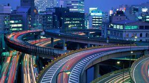Japan Time Lapse Tokyo 1600x1200 Wallpaper