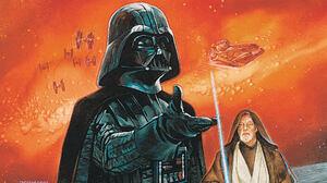 Darth Vader Obi Wan Kenobi Star Wars 1920x1080 wallpaper