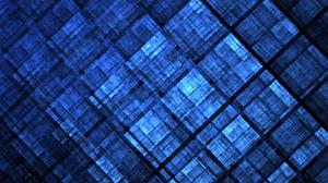 Apophysis Software Artistic Blue Digital Art Fractal Pattern Square Texture 2048x1536 Wallpaper