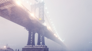 Man Made Manhattan Bridge 1920x1280 Wallpaper