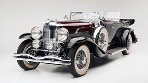 Duesenberg Sj Lebaron Dual Cowl Phaeton Luxury Car Vintage Car Full Size Car Old Car Red Car Car 4500x2531 Wallpaper