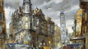 Artistic Saint Petersburg 1680x1050 Wallpaper