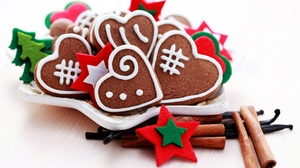 Christmas Cinnamon Cookie Gingerbread 5616x3724 Wallpaper