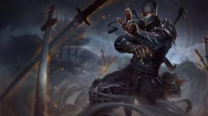 Shen League Of Legends 3408x2011 Wallpaper