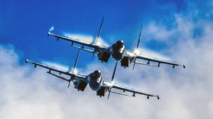 Air Force Aircraft Jet Fighter Military Sukhoi Su 35 Warplane 1920x1280 Wallpaper