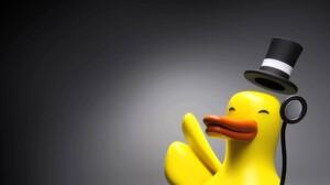 Duck Top Hat 1920x1080 Wallpaper