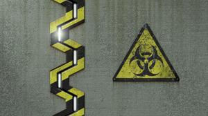 Caution 1280x1024 wallpaper