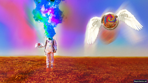 Psychedelic Trippy Surreal Space 3840x2160 Wallpaper
