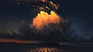 Sky Night 1920x1080 Wallpaper