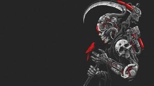 Robot Scythe 4000x2380 wallpaper