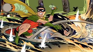 Batman Bruce Wayne Dick Grayson Robin Dc Comics 4238x2360 Wallpaper