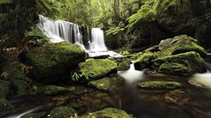Earth Greenery Jungle Rainforest Waterfall 5000x3333 Wallpaper