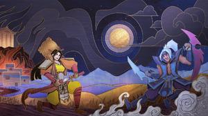 Amaterasu Smite Tsukuyomi Smite 1920x1080 Wallpaper