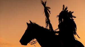Horse Silhouette 1920x1280 Wallpaper
