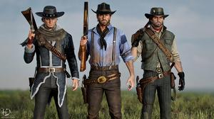 Red Dead Revolver 4K Red Dead Redemption Red Dead Redemption 2 Red Harlow Arthur Morgan John Marston 3840x2160 Wallpaper