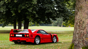 Ferrari F40 Red Car Sport Car 5273x3531 Wallpaper