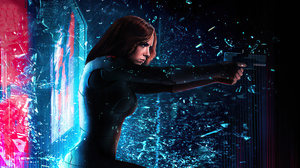 Marvel Comics Marvel Cinematic Universe Black Widow Mizuri AU 3840x2160 Wallpaper