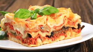 Lasagna Meal Pasta 3542x2362 wallpaper