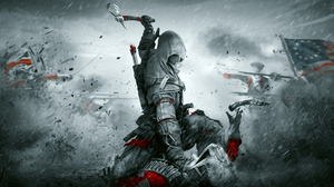 Assassin 039 S Creed Connor Assassin 039 S Creed Selective Color 3840x2160 wallpaper