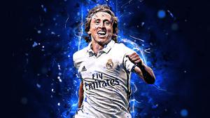 Croatian Luka Modric Real Madrid C F Soccer 2880x1800 Wallpaper