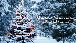 Christmas Motivational Quote 1920x1054 Wallpaper