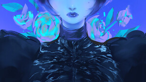 ArtStation Artwork Women Face Fantasy Art Fantasy Girl Animal Ears Nixeu 800x1541 Wallpaper